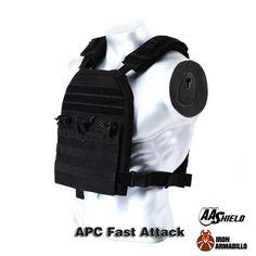 APC Armadillo Plate Carrier Ballistic Tactical Molle Gear Body Armor 10X12 Black Bullet Proof Vest IIIA Soft Armor Plus Kit
