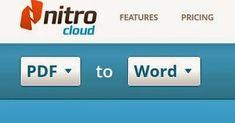 Tech Time: PDF to Word