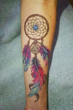 Dream catcher tattoo - Dream catcher tattoo You are in the right place about Dream catcher tattoo Tattoo Design And Style G - Feather Tattoos, Wrist Tattoos, Body Art Tattoos, Small Tattoos, Dream Catcher Tattoo Small, Dream Catcher Tattoo Design, Dream Tattoos, Future Tattoos, Atrapasueños Tattoo