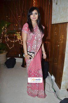 Bollywood Actress Rimmi Sen | Bappa Lahiri & Taneesha Verma's wedding ceremony at ITC Grand Sheroton Hotel, Andheri in Mumbai    Rimi Sen profile: http://www.gomolo.com/about-rimi-sen/11778
