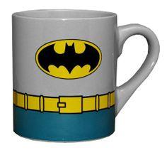 Batman DC Comics Costume Superhero Ceramic Coffee Mug // $8