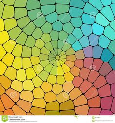 Color Magic Pattern Of Geometric Shapes. Stock Photos - Image ...