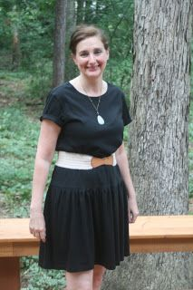 Cotton Creek Sewing: How To Make a Dress from A Pack of Men's T-Shirts