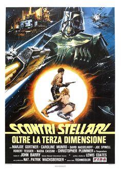 Starcrash - Scontri stellari oltre la terza dimensione - Locandina