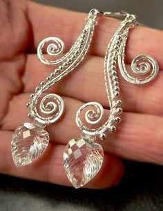 Waterfall Earrings   JewelryLessons.com