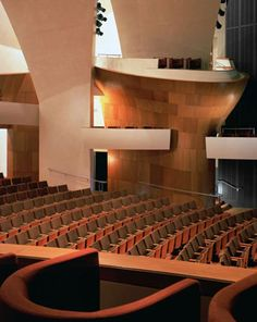 The Eli and Edythe Broad Stage Theater Interior by Renzo Zecchetto Architects