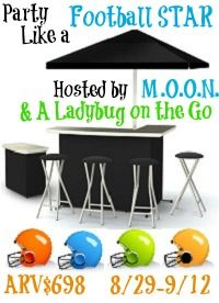Party Like a Football Star Giveaway! ARV $698 9/12