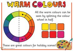 Teacher's Pet - Warm and Cool Colours - FREE Classroom Display Resource - EYFS, KS1, KS2, art, painting, colour, wheel, color, primary, secondary, tertiary, shading, tints