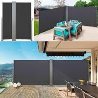 Paravent Exterieur Retractable 300x180cm Ecru Store Vertical 12499 Paravent Exterieur Stores Verticaux Et Paravent