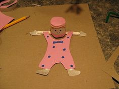 Almost Unschoolers: Flippy Acrobat Toy Craft for Sandys Circus