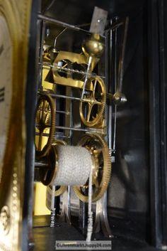 Burgunderuhr 8-Tage Werk - Mechanische - Standuhren - Tischuhren - Wine Rack, Storage, Home Decor, Grandfather Clocks, Desk Clock, Purse Storage, Decoration Home, Room Decor, Larger