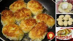 Namiesto obyčajnej prílohy zo zemiakov vyskúšajte toto: Strapaté zemiakové fašírky so syrom a bylinkami!