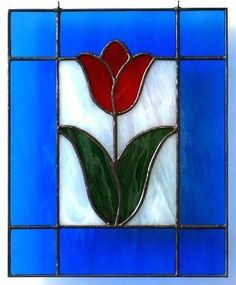 1b2e7b69ff69 How about planting this pretty stained glass tulip at your home  By Linda   amp