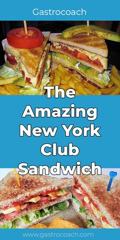 The Amazing New York Club Sandwich is one of our favorites. Their names are internationally known: Club sandwich, pastrami sandwich or the famous toast Corned Beef Sandwich, Pastrami Sandwich, Sandwiches, Sandwich Cream, Club Sandwich Recipes, Chicken Breast Fillet, Recipe Creator, Food Test, World Recipes