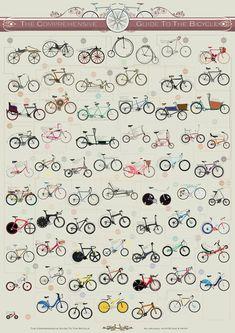 Illustrated guide to bicycle * Guía ilustrada de la bicicleta *