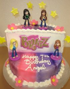 A Few Other Cool Bratz Cakes Hard To Find Party Supplies