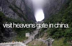 visit heavens gate in china
