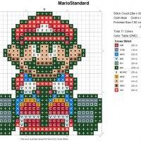 Mario cross stitching Patterns!!!! Immmm so doing a big one