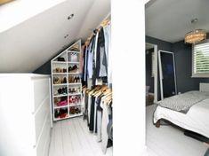 Loft bedroom wardrobe