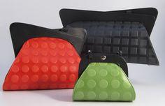 Hester van Eeghen: Most Charming Series - Large black, Medium red, Small kiwi