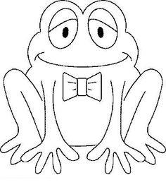 Small Frog Wearing Ribbon