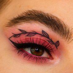 Edgy Makeup, Makeup Eye Looks, Grunge Makeup, Eye Makeup Art, Crazy Makeup, Cute Makeup, Makeup Inspo, Eyeshadow Makeup, Makeup Inspiration