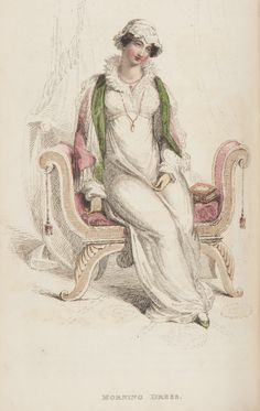 Ackermann's, April 1812, Morning Dress