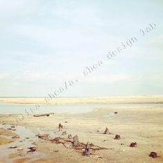 5x5 Sandy beach fine art photography on by ASheaDesignLab on Etsy, $20.00
