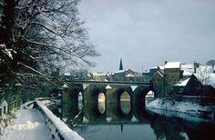 Elvet Bridge in Winter