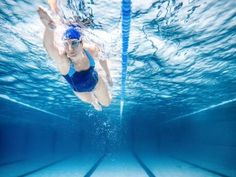 To put it simply, a freestyle stroke should be perfectly symmetrical, equally rotating from side to side around your spine, like a pendulum.