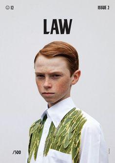 Law Magazine, issue 2 2012 | Magazine Cover: Graphic Design, Typography…