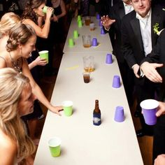 WEDDING FLIP CUP. See you there Adam Moser and @coryboulieris #champs