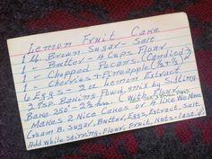 Your Letters: Linda Wertheimer's Fruitcake Recipe : NPR