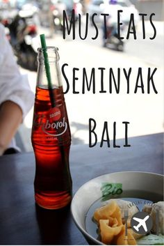 Our guide on the Must Eats in Seminyak, Bali, Indonesia.