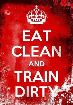Eat clean and train dirty quotes quote fitness workout motivation exercise motivate workout motivation exercise motivation Yoga #Fitness #Quotes  I
