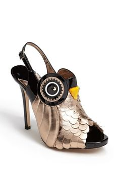 kate spade new york 'night owl' pump - these are outrageous! lol I would never wear them but I had to pin them!