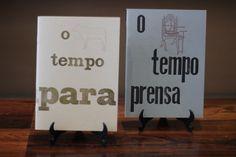 Cadernos tipografia!