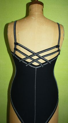 WHY haven't I thought of this??!! Make your own dance leotard. It would save us a fortune!