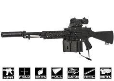 New Airsoft GI Custom Rifles In Stock