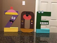 Hey Duggee Custom Letters price is per letter Birthday Bbq, 4th Birthday Parties, Birthday Ideas, Bbq Party, Party Planning, First Birthdays, Party Time, Uriah, Indoor Play