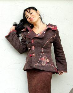 Autumn recycled warm jacket von jamfashion auf Etsy