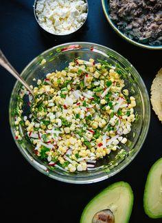 how to make sweet corn tacos
