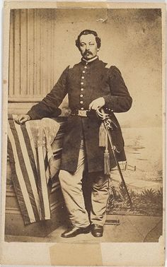CDV of Major Frank Zentmeyer, 34th Pa. Inf., 5th Reserves, KIA, - Cowan's Auctions