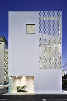 Japan office building by Hiroyuki Moriyama Architect and Associates in Kanagawa