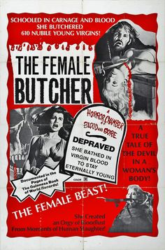 THE FEMALE BUTCHER aka THE LEGEND OF BLOOD CASTLE aka BLOOD CASTLE 1973