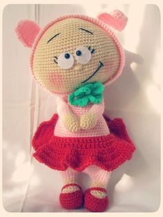 Bonnie dressed pig by HookAndaBall on Etsy