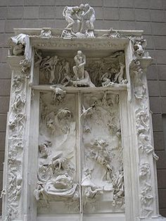"""""""The Gates of Hell"""" by Rodin.."""