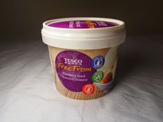 Compassionate Cooking: UK Vegan Reviews: Tesco Free From Ice Cream! Vegan Recipes Easy, Dairy Free, Ice Cream, Cooking, Tableware, Desserts, Easy Vegan Recipes, No Churn Ice Cream, Kitchen