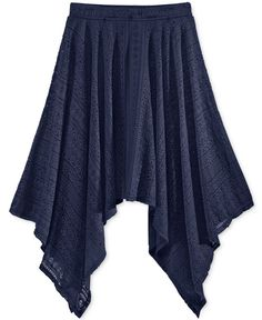 Epic Threads Girls' Lace Handkerchief Maxi Skirt, Only at Macy's