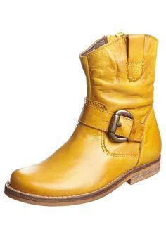Støvletter - gul
